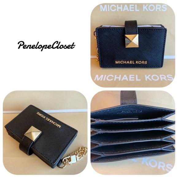 ec88c48a5e03 Michael Kors Bags | Karla Black Accordion Wallet Card Key | Poshmark